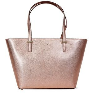 Kate spade rose gold bag